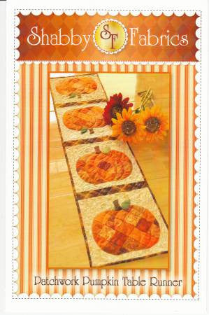 Patchwork Pumpkin Table Runner Pattern