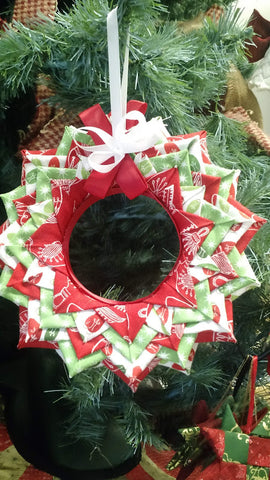 Folded Wreath Ornament