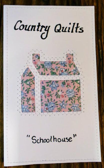 Schoolhouse Quilted Card