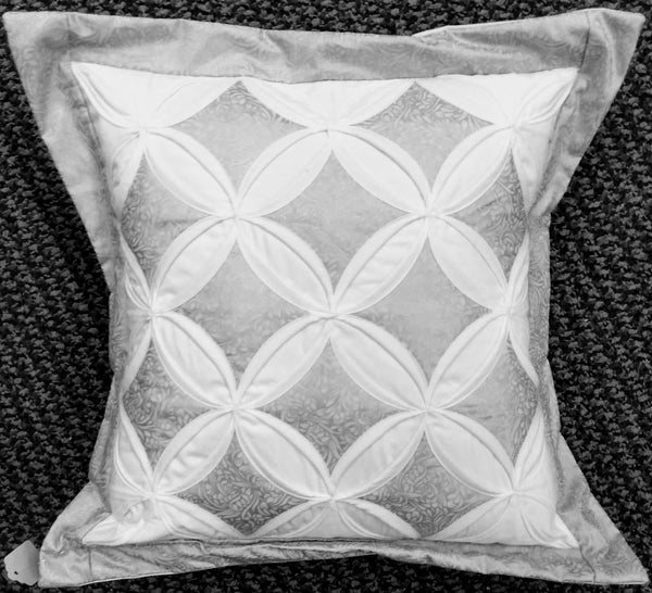 Cathedral Window Pillow Cover