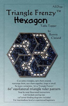 Triangle Frenzy Hexagon Pattern
