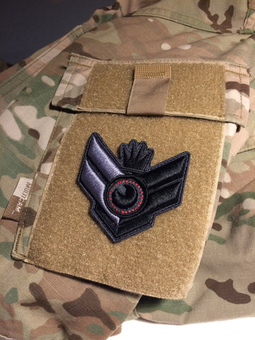 3D NÁŠIVKA SE SUCHÝM ZIPEM/ 3D PATCH WITH VELCRO