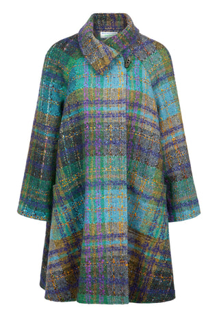 Jimmy Hourihan Tweed Swing Coat