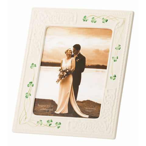 Belleek Tara 8x10 Photo Frame