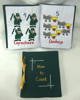 How to Count Cloth Children's Book