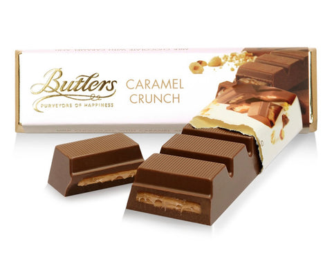 Butler's Chocolate Caramel Crunch Bar - 6 Pack