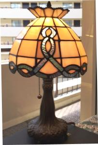 Stained Glass Celtic Wave Lamp