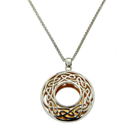 Keith Jack Window to the Soul Circle Pendant Large