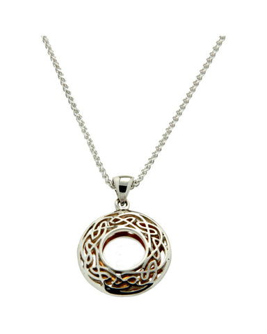Keith Jack Window to the Soul Circle Pendant Small