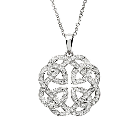 ShanOre SS Swarovski® Celtic Design Necklace