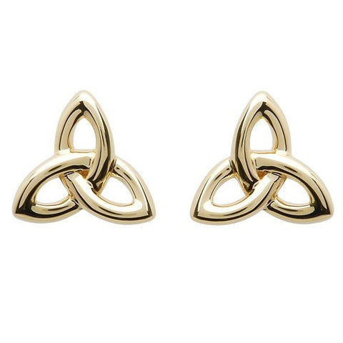 ShanOre 10 Karat Gold Trinity Stud Earrings