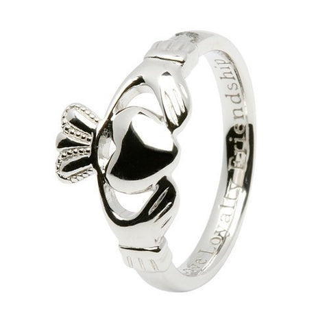 ShanOre Sterling Silver Comfort Fit Claddagh
