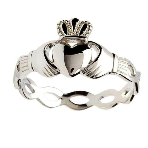 ShanOre SS Claddagh Intertwining Design