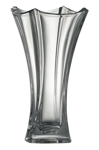 "Galway Crystal Dune 12"" Waisted Vase"