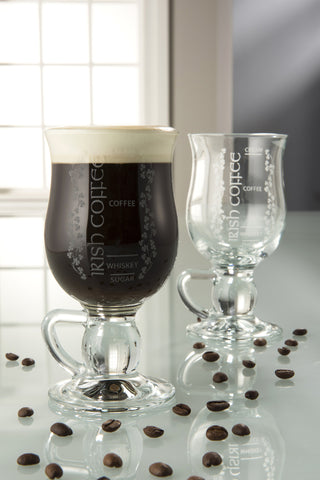 Galway Crystal Irish Coffee Mug Pair