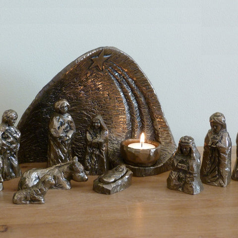 Wild Goose Studio Light of the World Nativity Scene