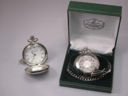 Mullingar Pewter Pocket Watch Celtic