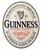 Guinness Oval Label Wooden Sign