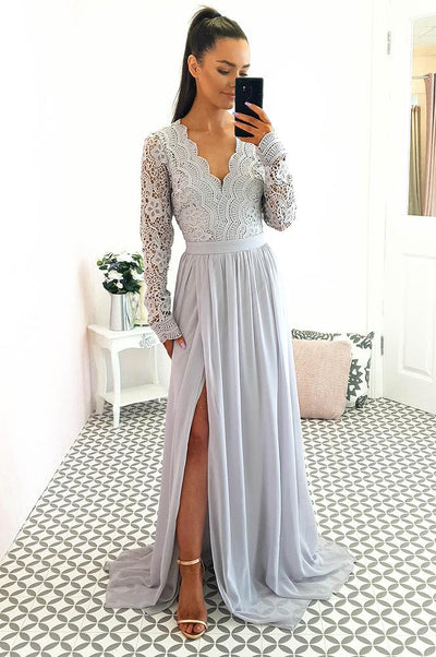Ravena Maxi Dress Grey