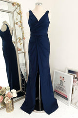 Emma Dress Navy