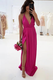 Petra Maxi Dress Hot Pink