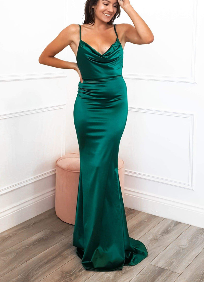 Glamour Girl Gown Green