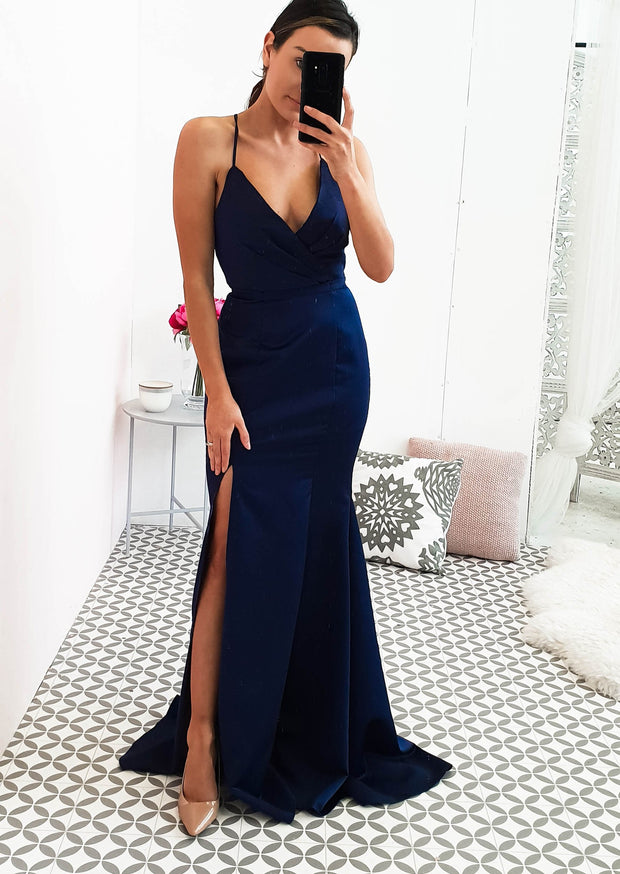 Hunter Gown Navy