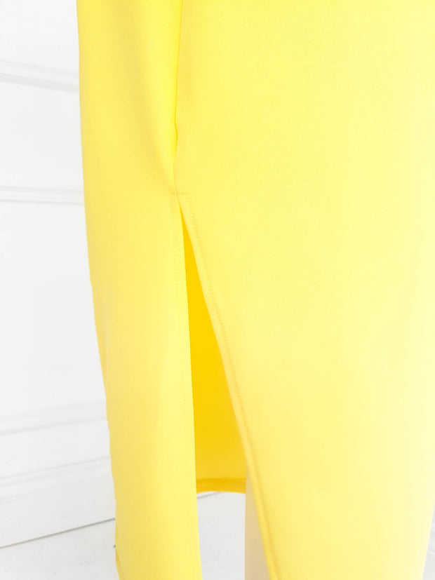 PRE-ORDER Alba Midi Dress Yellow