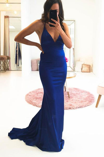 Milana Gown Royal Blue