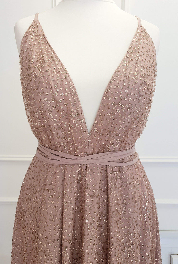 Lavida Maxi Gown Rose Gold