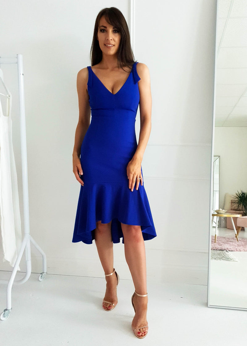 Hamilton Midi Dress Cobalt Blue