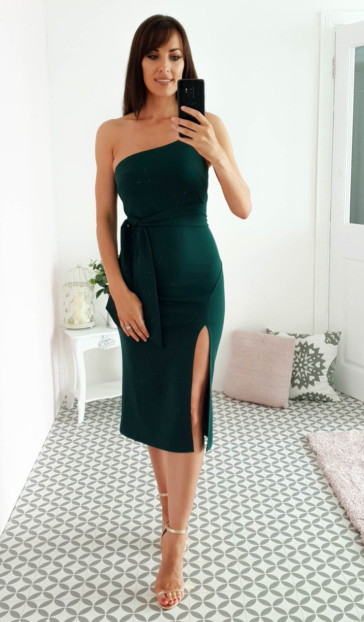 Kenzie Midi Dark Green