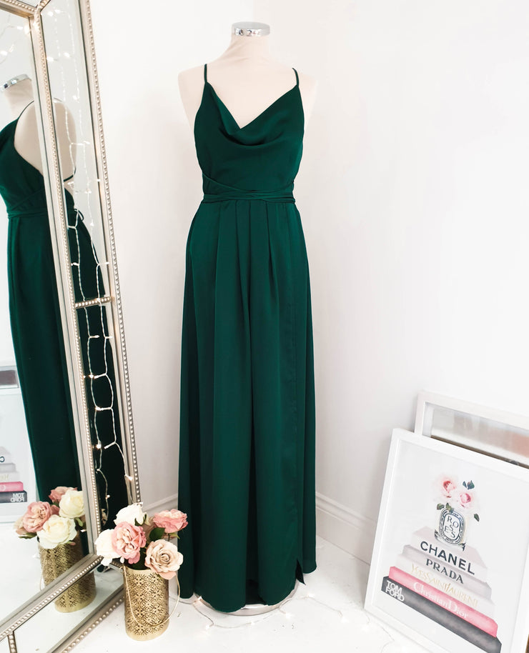 Sahara Maxi Dress Emerald Green