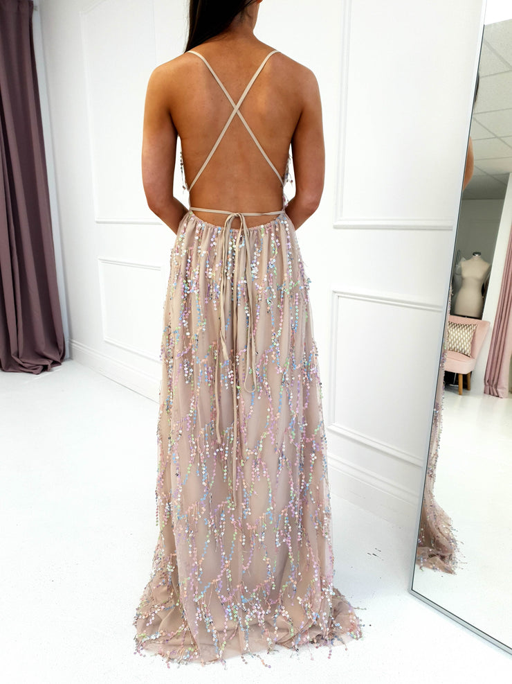Rainbow Magic Maxi Dress