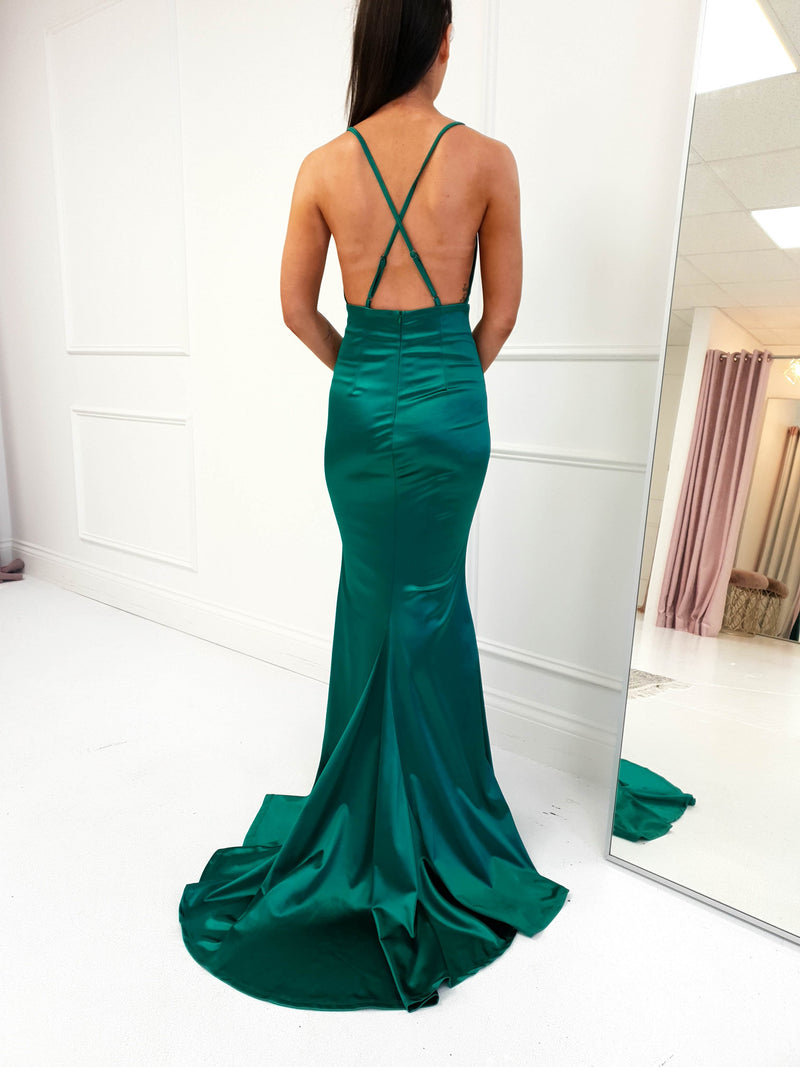 Milana Gown Green