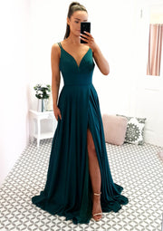 Pieta Gown Emerald Green