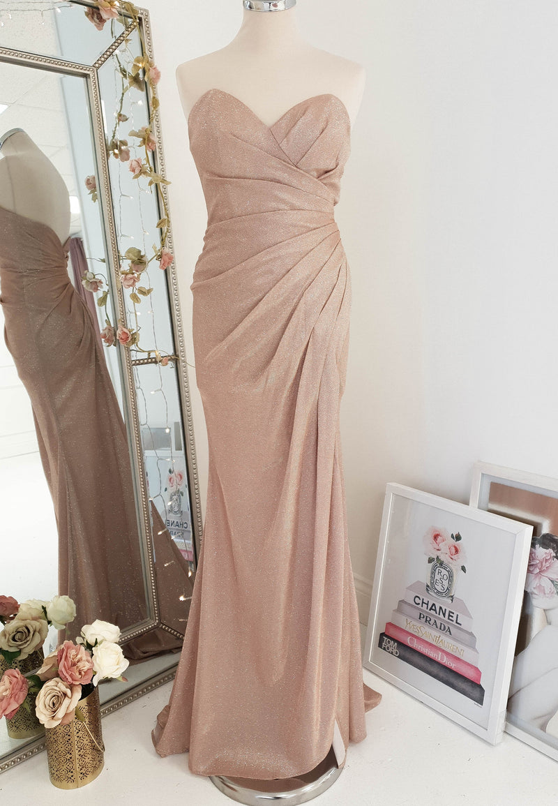 Janita Strapless Gown Mauve