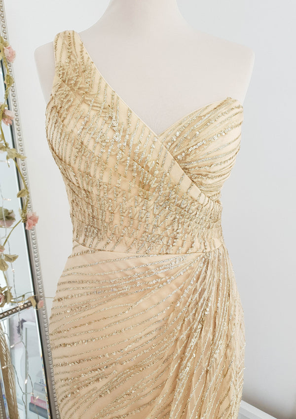 Davina Gown Gold