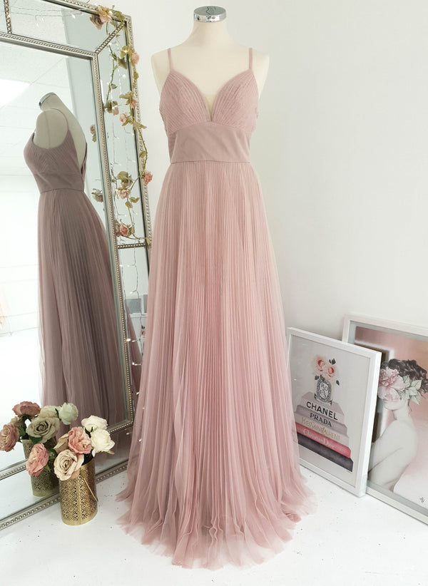 Zahra Bridesmaid Dress Dusty Rose