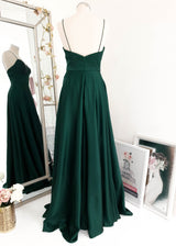 Scala Gown Emerald Green