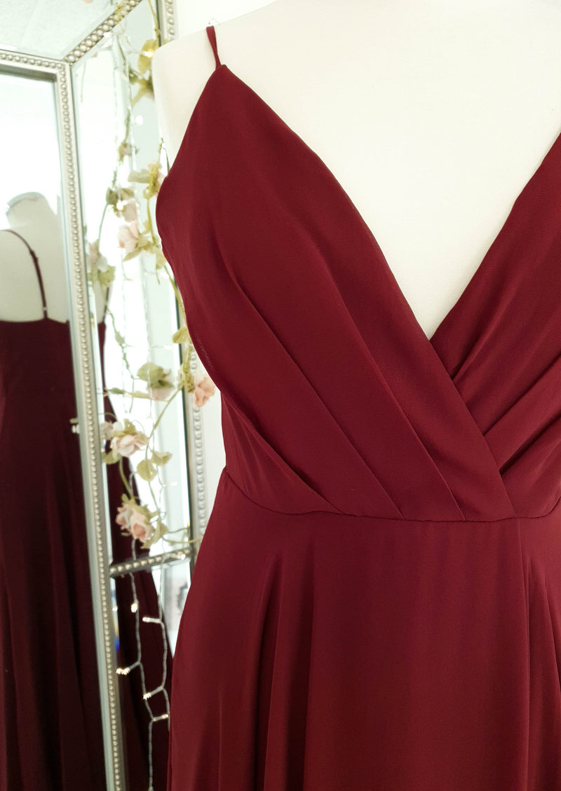 Mylie Gown Burgundy