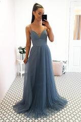 Zahra Bridesmaid Dress Paris Blue
