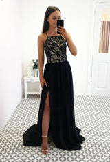 Diaz Maxi Dress Dusty Black