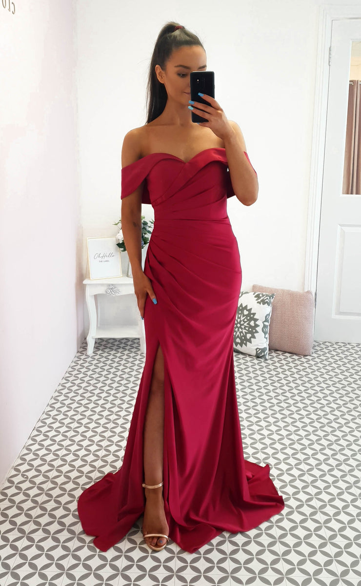 Elyse Gown Burgundy