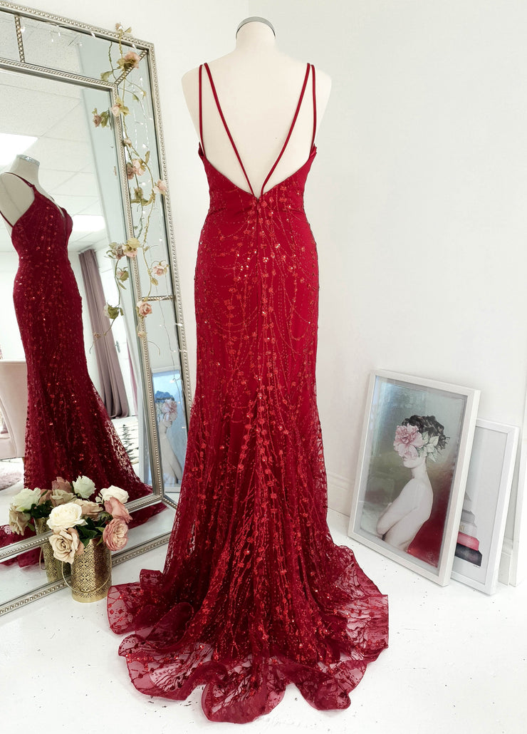 Laurenza Gown  Red