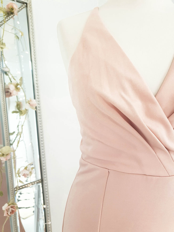 Renee Gown Dress Blush