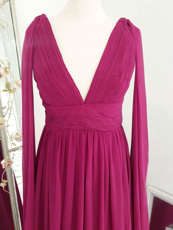 Courtney Maxi Dress Magenta