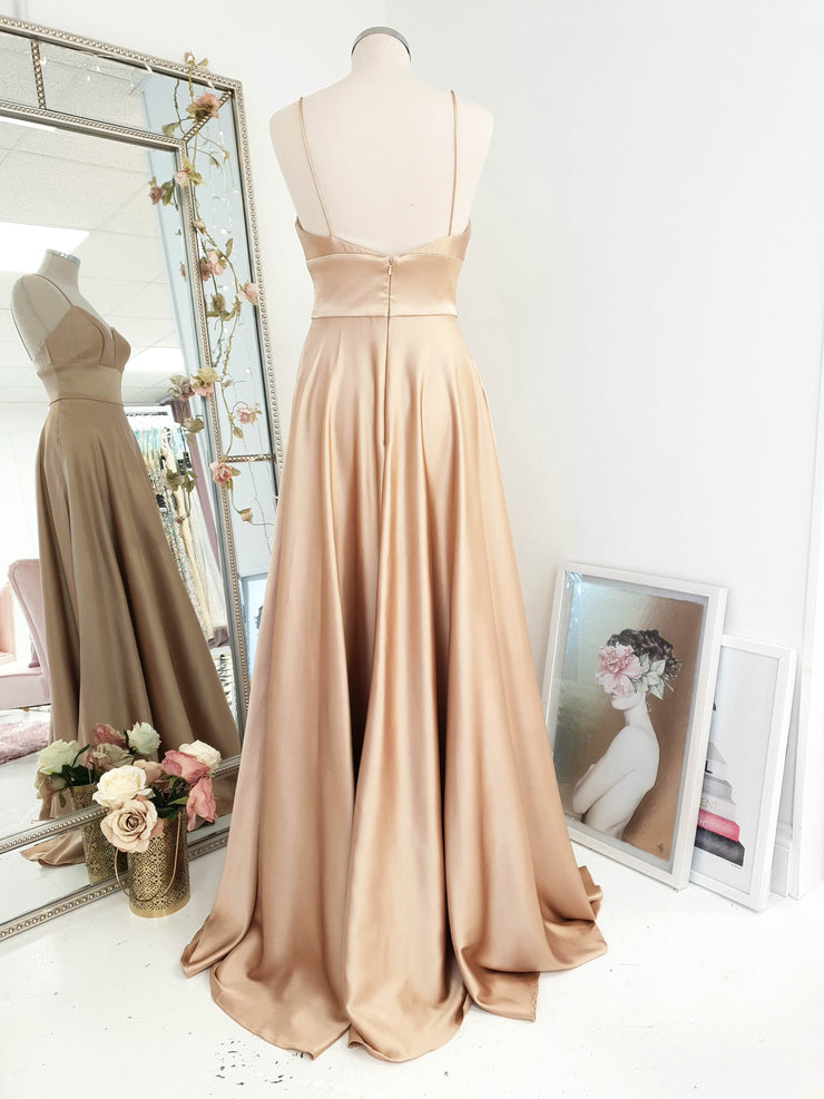 Scala Gown Champagne