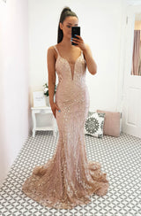 Laurenza Gown Rose Gold