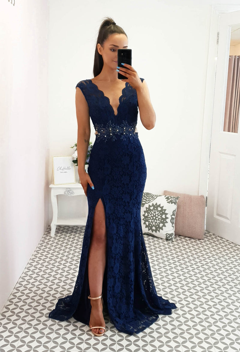 Bianca Gown Navy